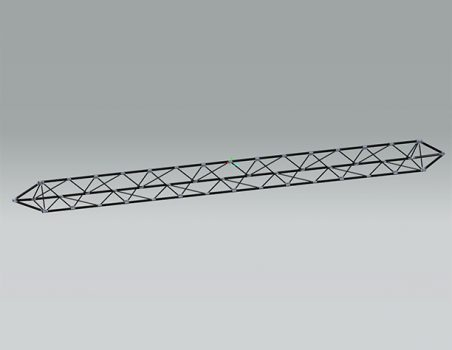 Epsilon-composite: structural trusses